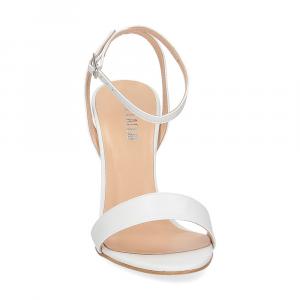 Il Laccio sandalo 1753L pelle bianca-3