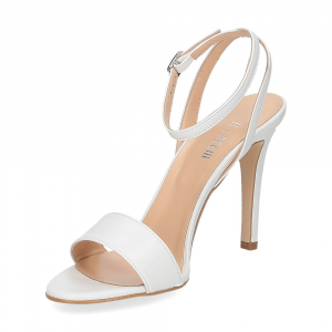 Il Laccio sandalo 1753L pelle bianca-4