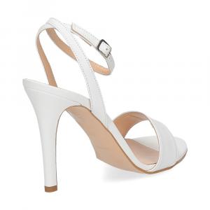 Il Laccio sandalo 1753L pelle bianca-5