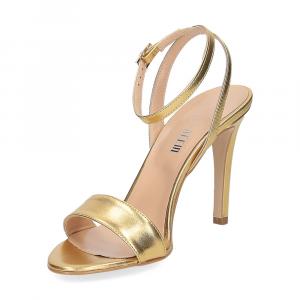 Il Laccio sandalo 1753L pelle platino-4
