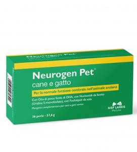 NEUROGEN PET 36 PERLE - supporto per la normale funzione celebrale nell'animale anziano