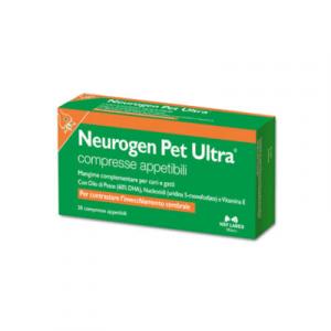 NEUROGEN PET ULTRA 30 cpr – Contro l'invecchiamento cerebrale di cani e gatti