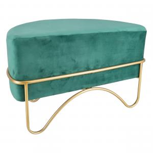 Pouf Glamour Mazzaluna Verde