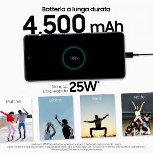 "Samsung Galaxy A52 128 GB Display 6.5"" FHD+ Super AMOLED Awesome White"