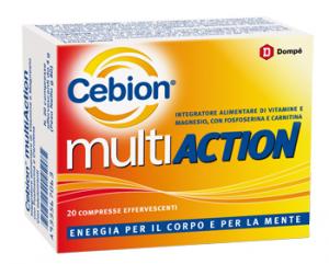 CEBION MULTIACTION - INTEGRATORE ALIMENTARE ENERGIA PER IL CORPO E PER LA MENTE