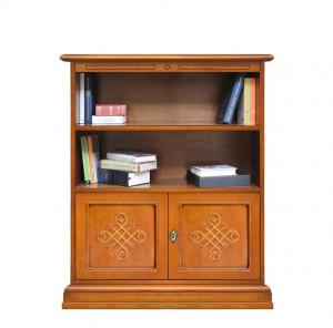 Librería baja de madera Midi