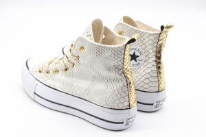 Converse Platform Gold Skin