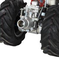 MOTOCOLTIVATORE MOTOZAPPA NIBBI KAM 7S MOTORE DIESEL EMAK K7000 - 6,7 Hp