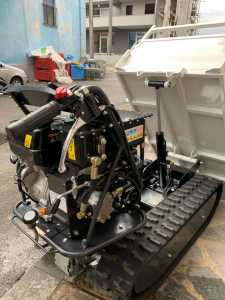MOTOCARRIOLA MINITRANSPORTER CINGOLATO RIBALTABILE IDRAULICA GIEMME MT-H 500 C kg.500