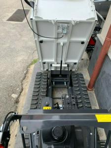 MOTOCARRIOLA MINITRANSPORTER CINGOLATO RIBALTABILE GIEMME MT-500 S kg.500