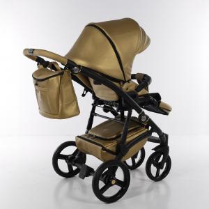 Novità Tako Baby - Laret Premium - telaio nero - ecopelle - oro