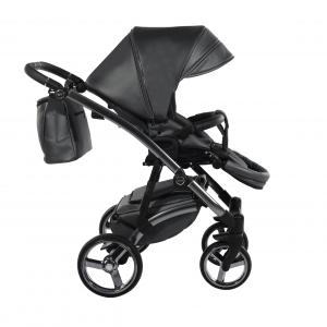 Novità Tako Baby - Laret Premium GT - telaio silver - ecopelle - grigio/silver