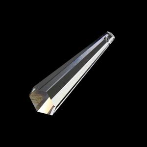 Pendente prisma asimmetrico Spectra Swarovski misura 63 mm, color cristallo.