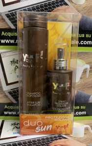 DUO SUN KIT PROTEZIONE SOLARE  Spray Protezione + Shampoo Doposole