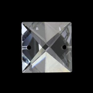 Quadruccio 20 mm sfaccettato due fori - Swarovski - 8126-