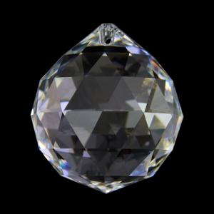 Sfera Spectra Swarovski cristallo puro Ø 40 mm.