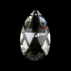 Swarovski pendente mandorla trasparente 28 mm - 8721 -