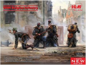 Belgian Infantry WWI
