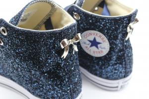 Converse All Star Glitter Full Blu
