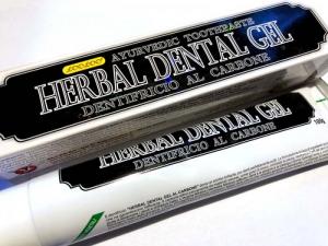 HERBAL DENTAL GEL CARBONE 100G