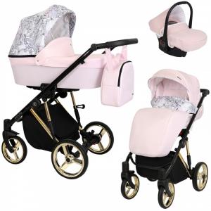 Baby Atelier - Modello Molto - telaio silver o gold - colore rosa