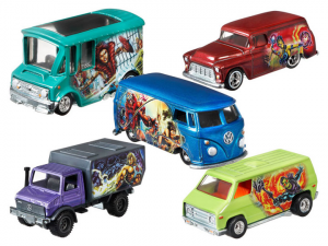 Masters of the Universe - Hot Wheels: SERIE COMPLETA 5 VEICOLI by Mattel