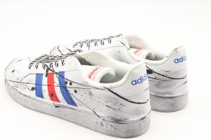 Adidas Advantage Flag Paint