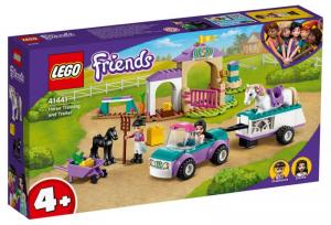 LEGO 41441 Addestramento equestre e rimorchio 41441 LEGO