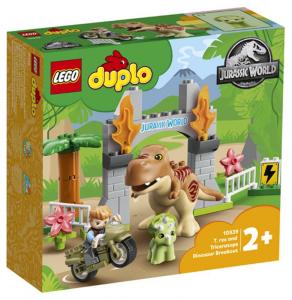 LEGO 10939 Fuga del T.rex e del Triceratopo 10939 LEGO