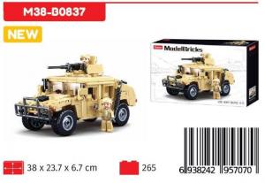 SLUBAN MODELBRICK HUMMER H2 265PCS M38-B0837 NICE