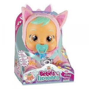 BAMBOLA CRY BABIES FANTASY FOXIE 81345 IMC TOYS