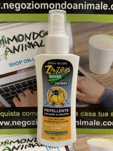 ZANZARA MAYER DERMA Repellente Zanzare e Zecche con Aloe 100ml