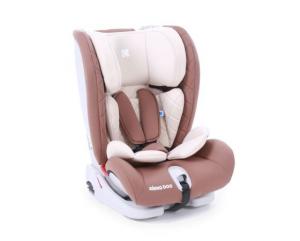 KikkaBoo - Seggiolino auto 1-2-3 (0-36 kg) Viaggio ISOFIX - brown