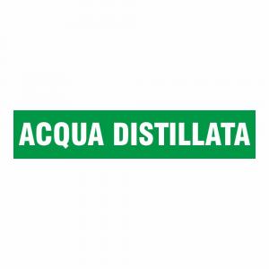 Adesivo per tubazioni Acqua distillata