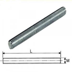 Barra filettata M5 zincata 1000 mm