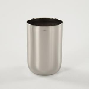 Bicchierino E27 nickelato Ø40 mm foro 10mm