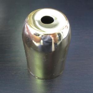 Bicchierino E27 ottonato Ø40 mm foro 10mm
