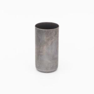 Bicchierino ferro grezzo per G9 Ø21 x h40 mm portalampada per lampadari