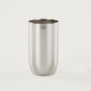 Bicchierino metallico nickel E14 Ø30 mm foro 10 mm