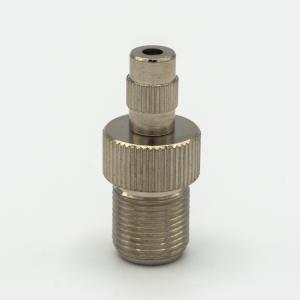 Bloccafilo automatico nickelato Ø16 x h21 mm - cavo 1,5 - 1,9 – 2,5.Filetto M13x1