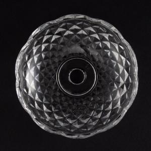 Bobeche lampadari Vetro veneziano Ø10 cm, foro Ø12 mm, 4 fori laterali