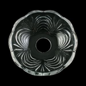Bobeche lampadari Vetro veneziano Ø10 cm, foro Ø24 mm, NO fori laterali