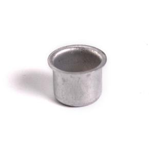Bossola in alluminio #4 Ø 18,5con foro per ingessatura lampadari vetro Murano