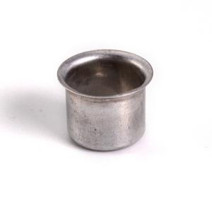 Bossola in alluminio #5 con foro. Misure: Ø20,5 mm  per ingessatura lampadari vetro Murano