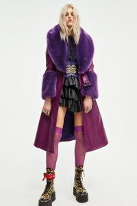 Cappotto Penelope Coat viola Aniye By
