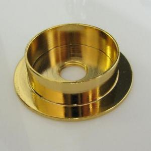 Centra tazza in ottone grezzo tornito Ø40 x h11 imposta 30 mm + F10x1