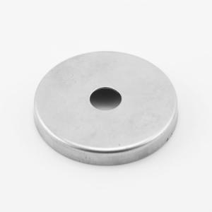 Centratubo grezzo a dischetto Ø45 mm con foro Ø10