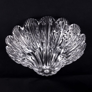 Coppa ricambio Ø29 fondino per applique in vetro di Murano colore puro trasparente