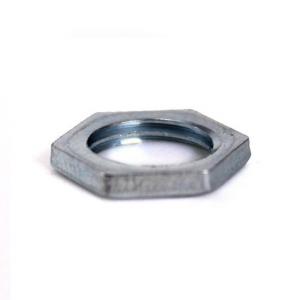 Dado esagonale Fe 13x2 - foro M10x1 zincato