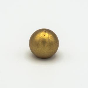 Finale ottone grezzo a sfera Ø12 mm foro interno M6